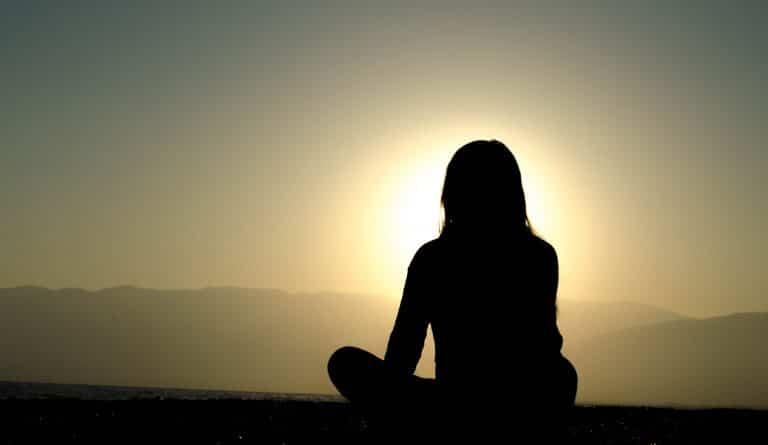 מדיטציה לחשיבה חיובית